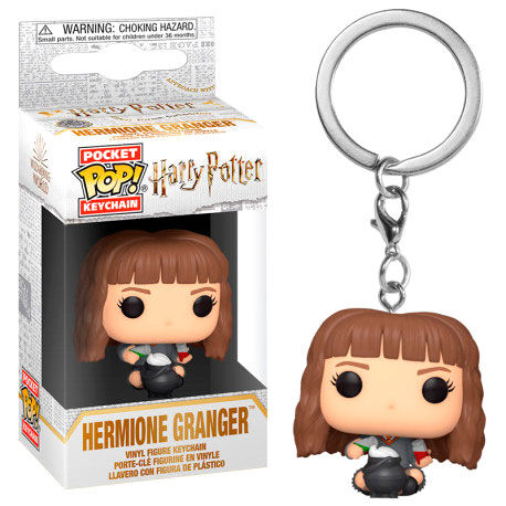 Photo du produit PORTE-CLÉS HARRY POTTER POCKET POP! HERMIONE WITH POTIONS