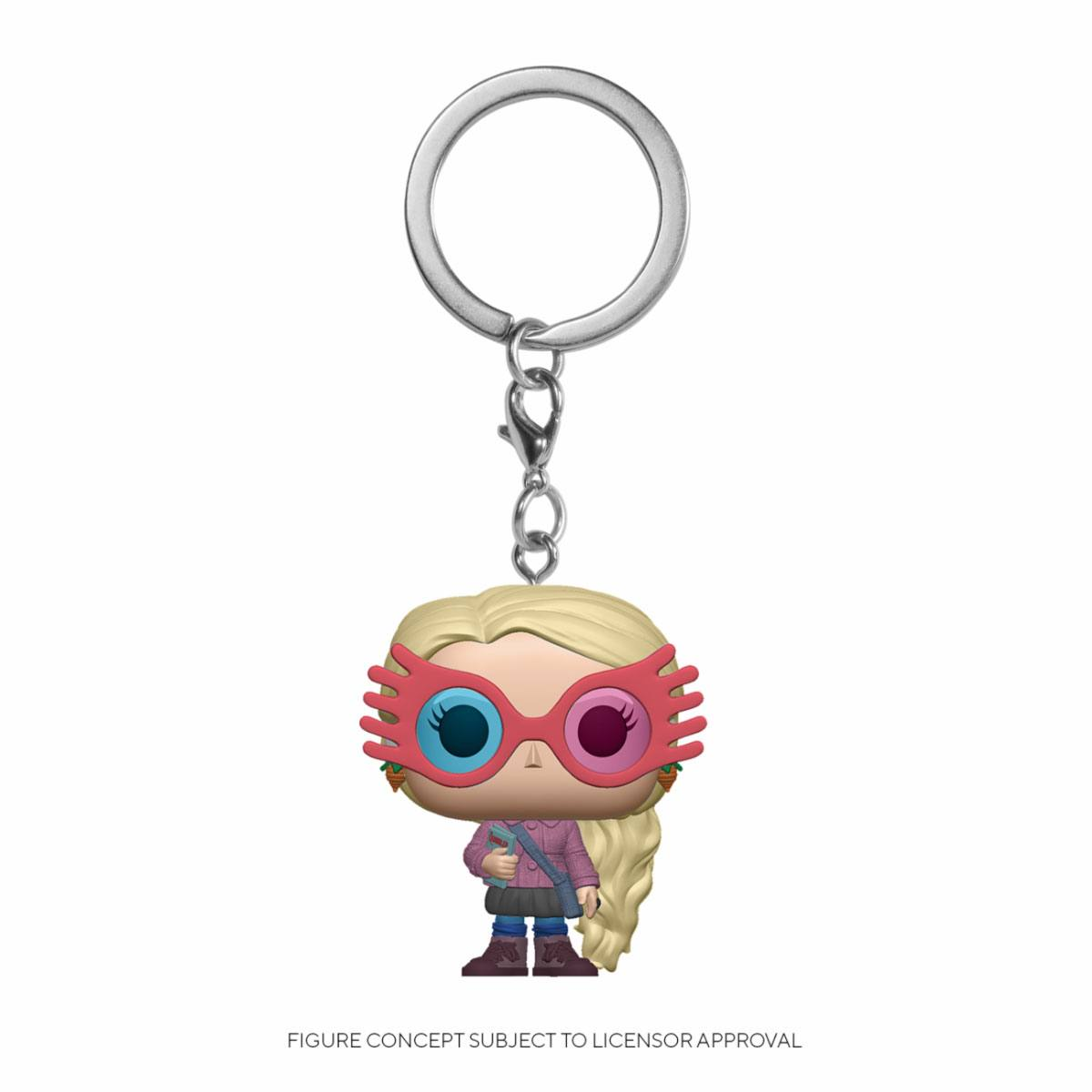 Photo du produit PORTE-CLÉS HARRY POTTER POCKET POP! LUNA LOVEGOOD