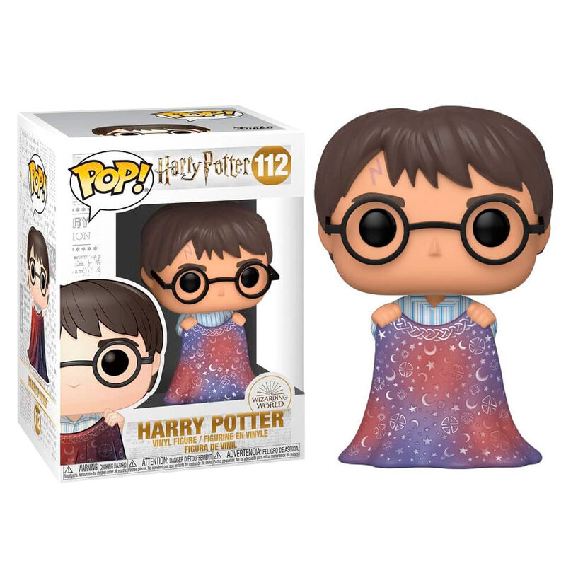 Photo du produit HARRY POTTER FUNKO POP! HARRY WITH INVISIBILITY CLOAK