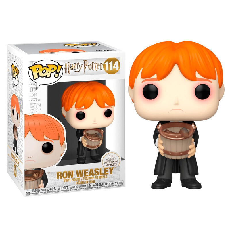 Photo du produit HARRY POTTER FUNKO POP! RON PUKING SLUGS W/BUCKET