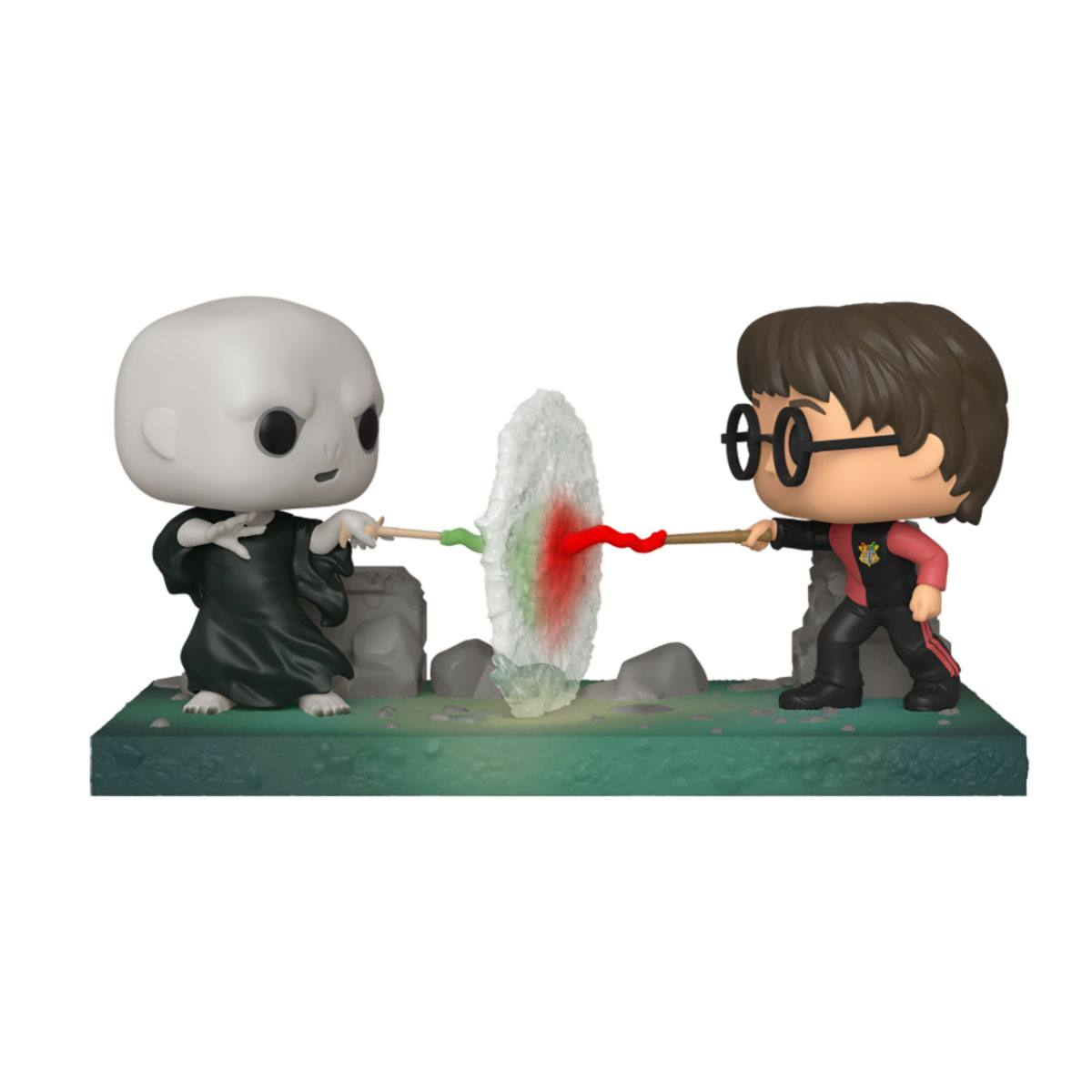 Photo du produit HARRY POTTER POP! MOVIE MOMENT VINYL FIGURINE HARRY VS VOLDEMORT