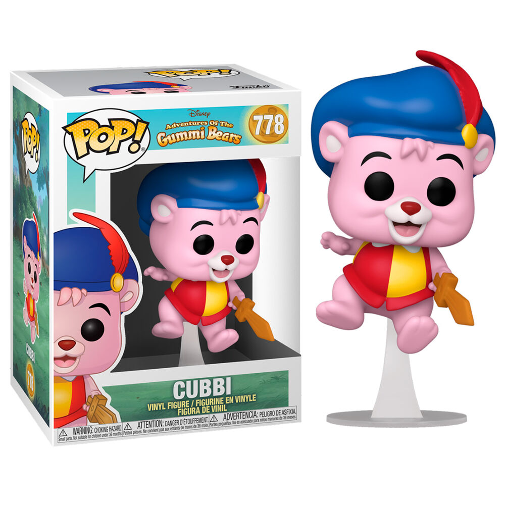 Photo du produit FUNKO POP LES GUMMI DISNEY CUBBI