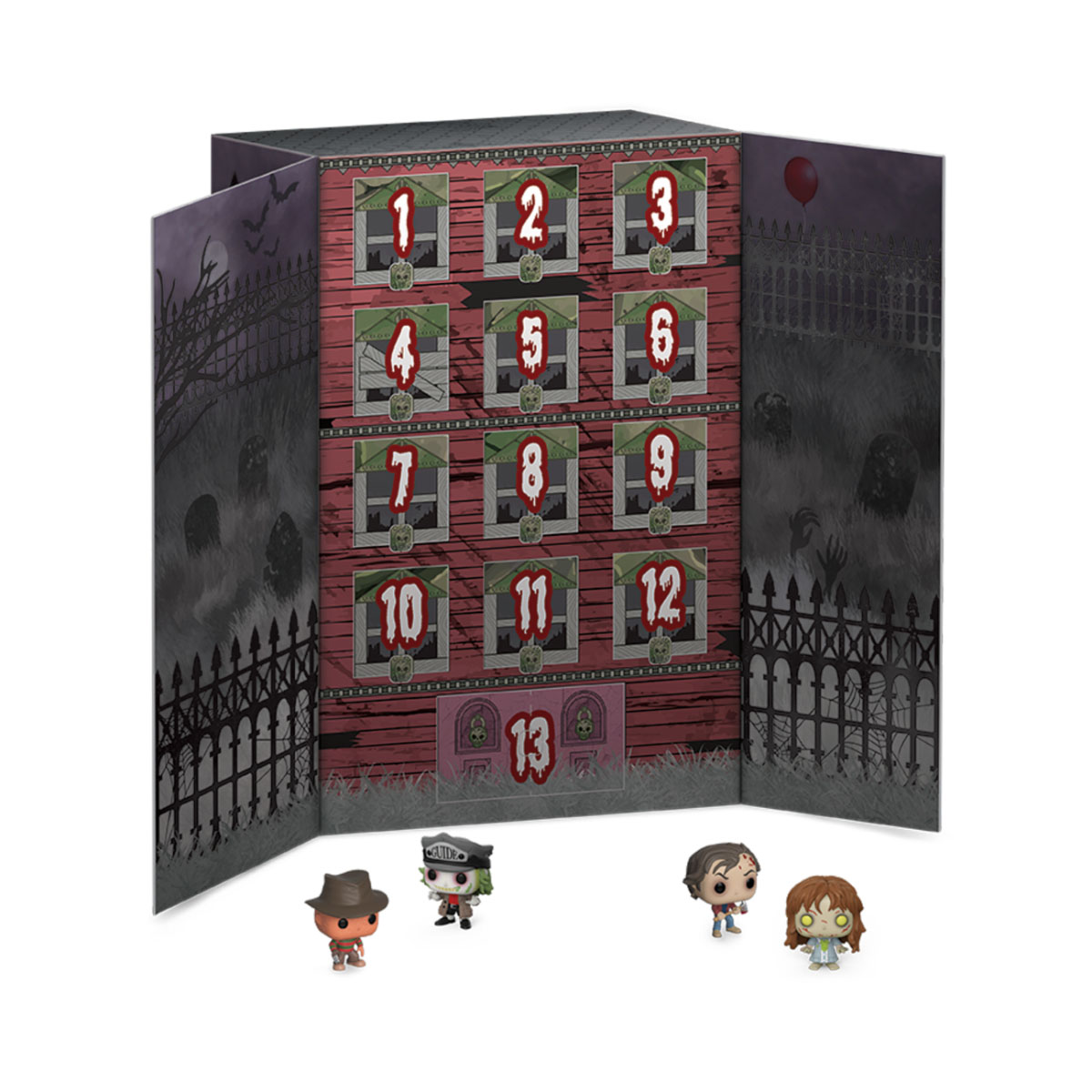 Photo du produit 13 DAY SPOOKY COUNTDOWN POCKET POP! CALENDRIER DE L´AVENT