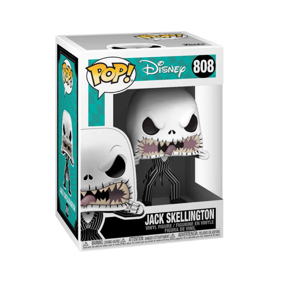 Photo du produit L´ÉTRANGE NOËL DE MR. JACK POP! DISNEY VINYL FIGURINE JACK (SCARY FACE)