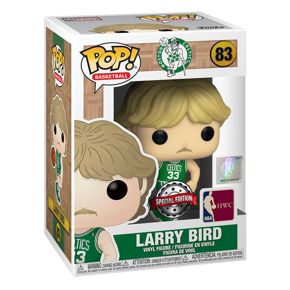 Photo du produit NBA FUNKO POP! TV LARRY BIRD (CELTICS AWAY UNIFORM) EXCLUSIVE