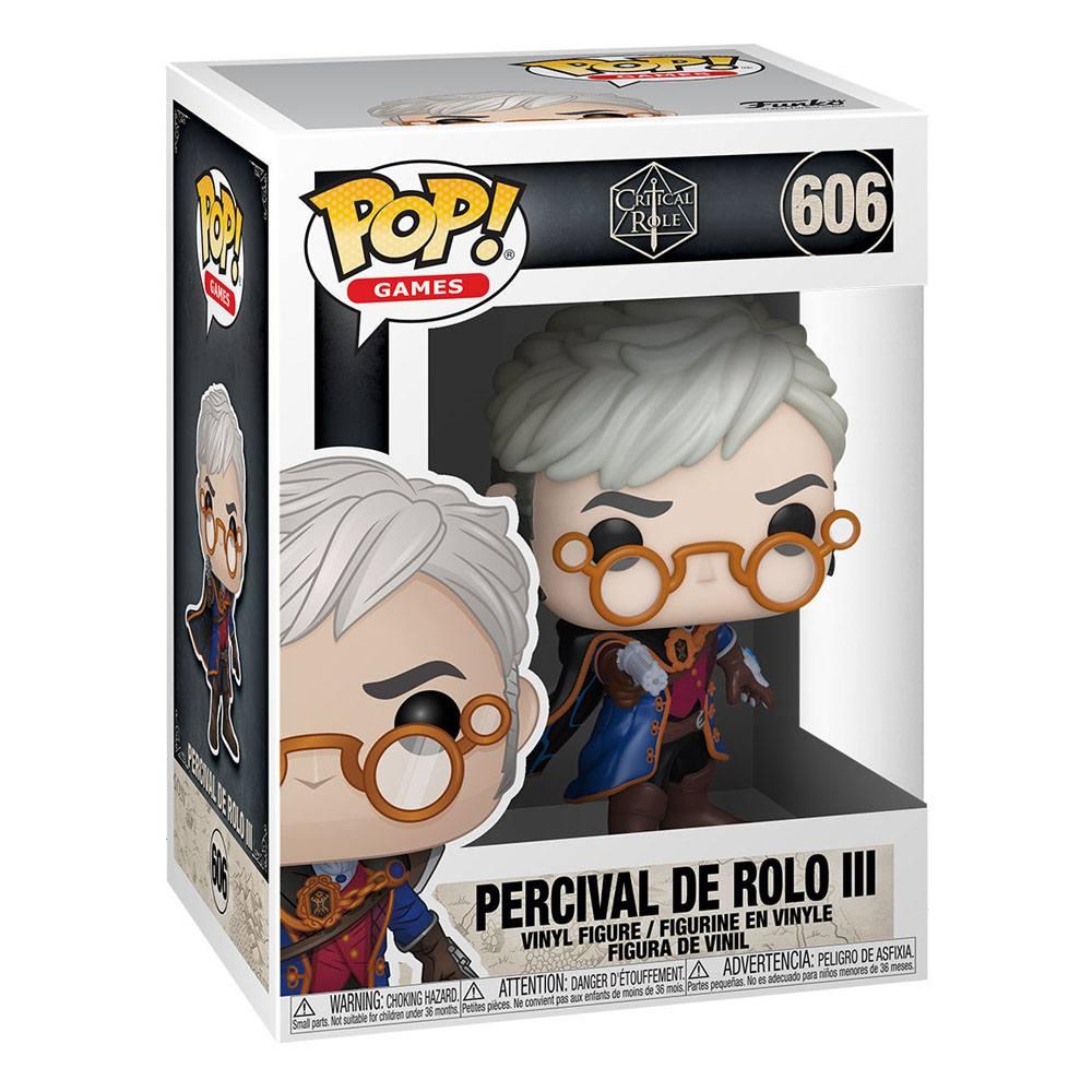 Photo du produit POP CRITICAL ROLE VOX MACHINA PERCIVAL DE ROLO