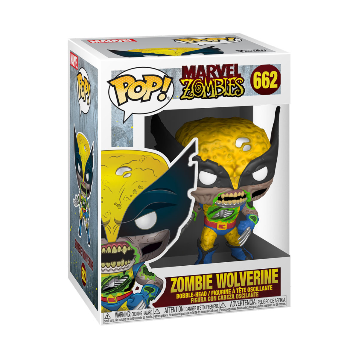 Photo du produit FUNKO POP! MARVEL ZOMBIE WOLVERINE
