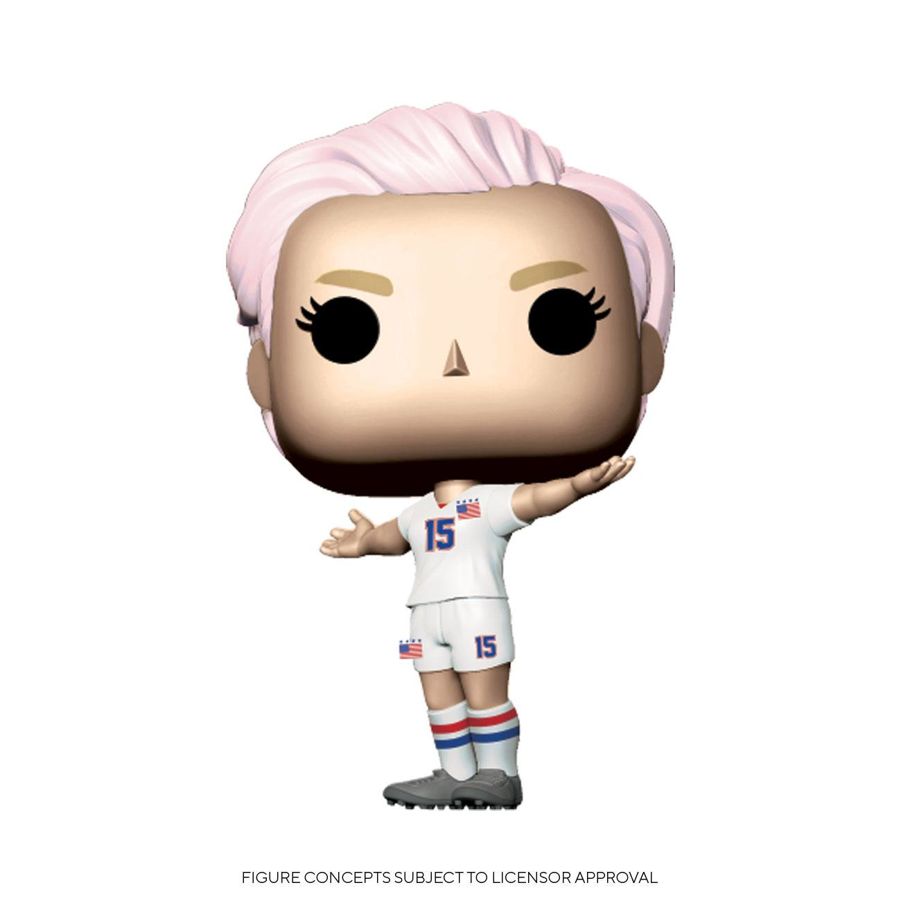 Photo du produit USWNT POP! SPORTS VINYL FIGURINE MEGAN RAPINOE