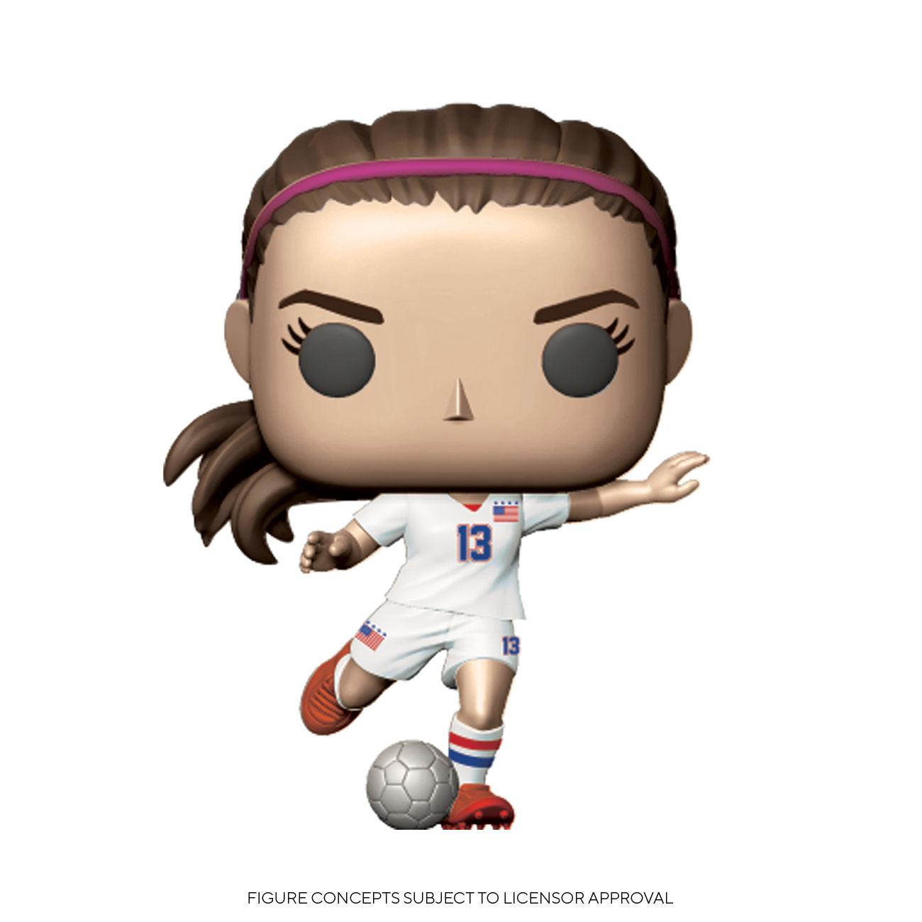 Photo du produit USWNT POP! SPORTS VINYL FIGURINE ALEX MORGAN