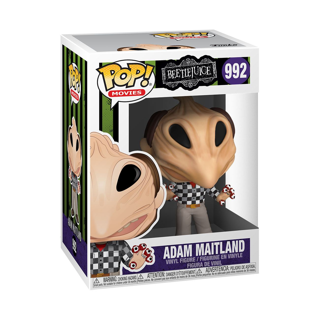 Photo du produit BEETLEJUICE FIGURINE FUNKO POP! ADAM TRANSFORMED