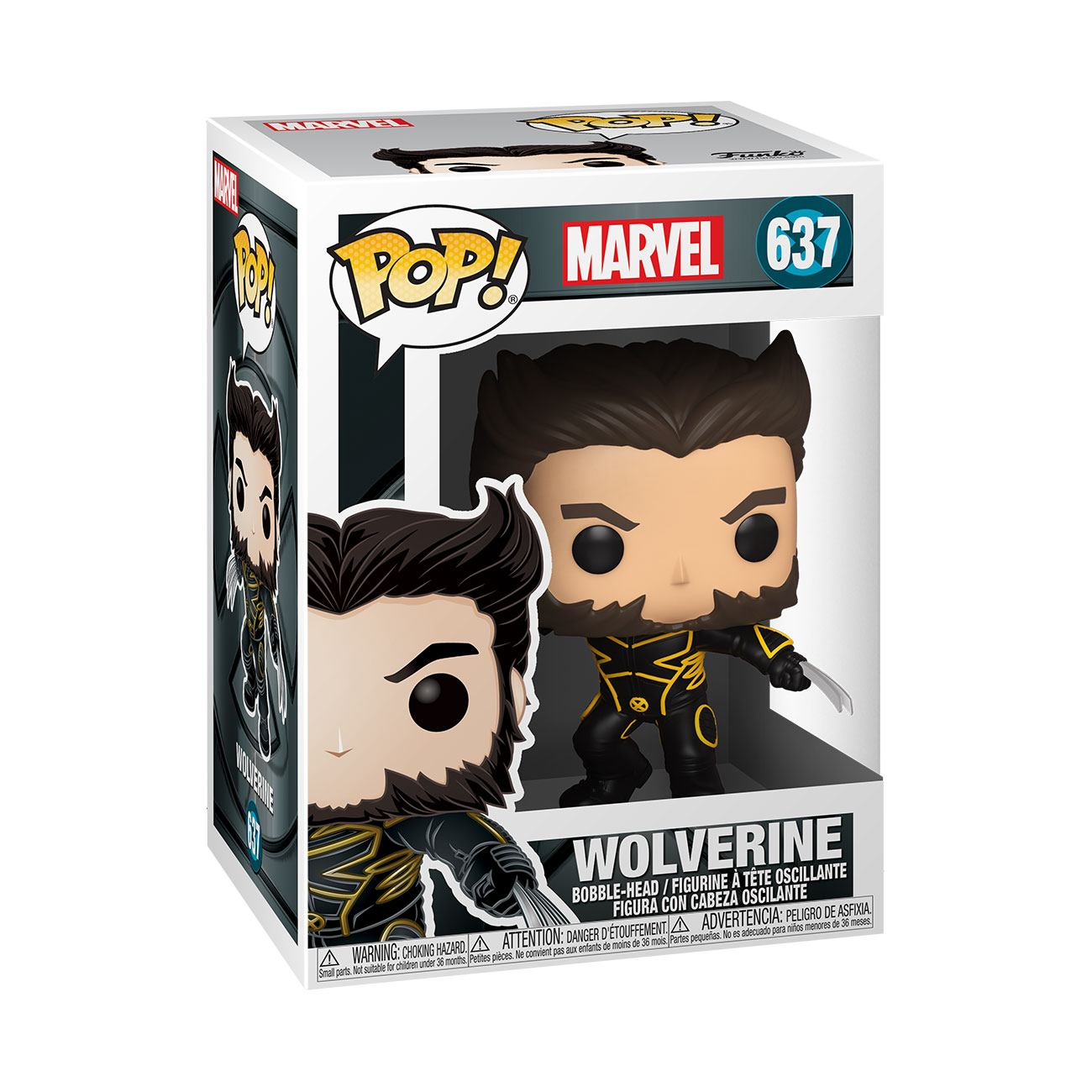 Photo du produit FUNKO POP MARVEL X-MEN 20TH WOLVERINE IN JACKET