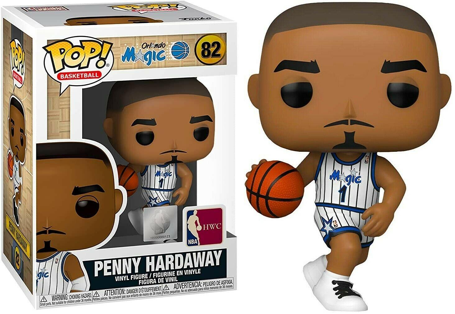 Photo du produit NBA LEGENDS FUNKO POP! SPORTS PENNY HARDAWAY (MAGIC HOME)