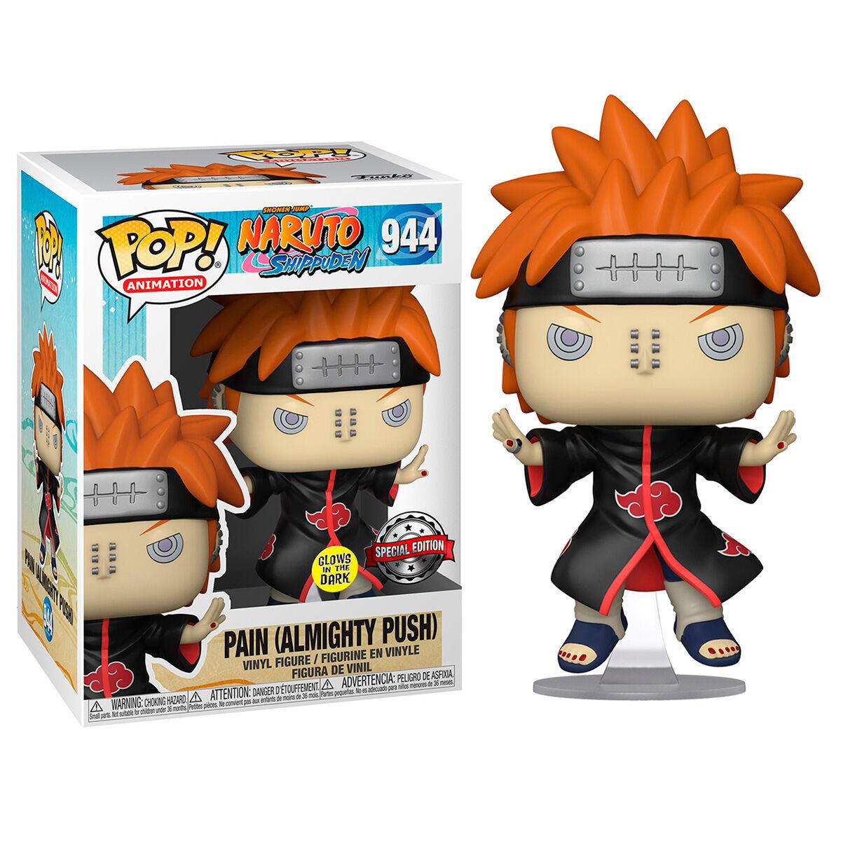 Photo du produit Figurine POP Naruto Pain Almighty Push Shinra Tensei Glow in the Dark Exclusive
