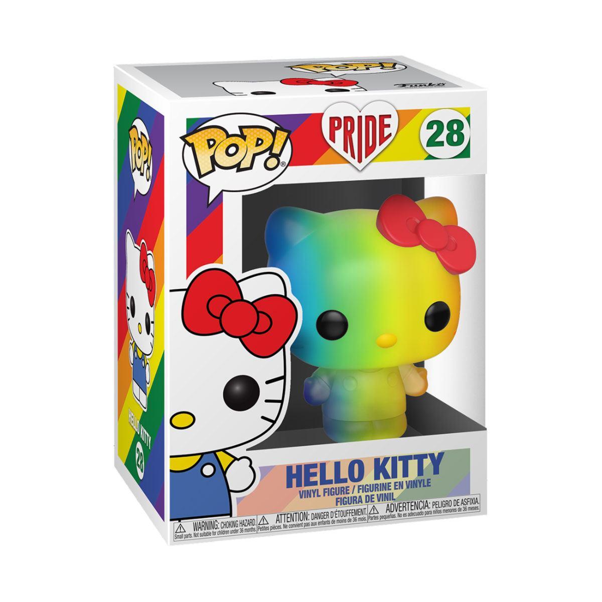 Photo du produit PRIDE 2020 HELLO KITTY POP! SANRIO VINYL FIGURINE HELLO KITTY (RNBW)