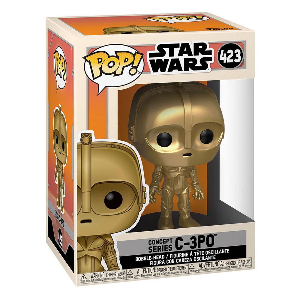 Photo du produit FIGURINE FUNKO POP STAR WARS CONCEPT C-3PO