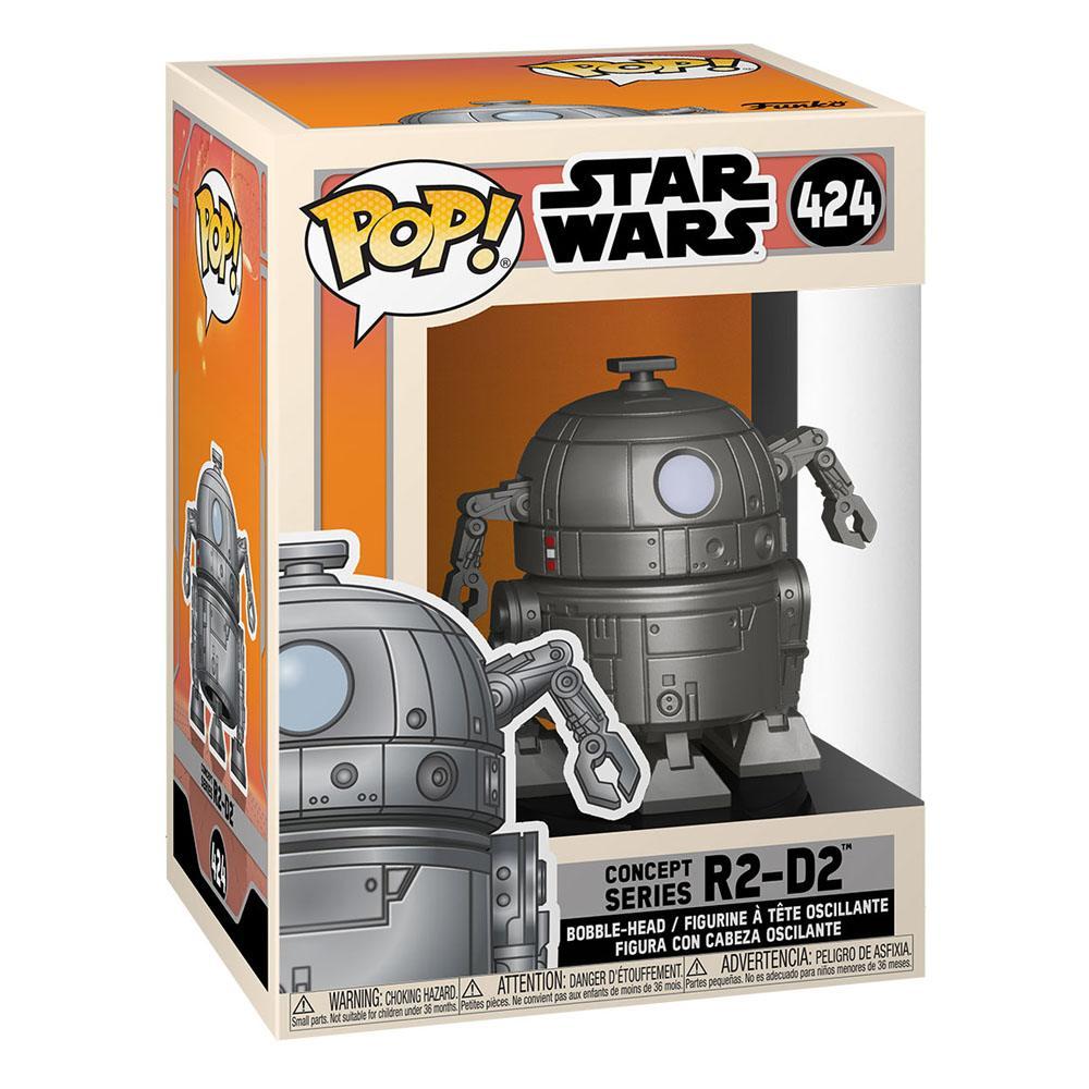 Photo du produit FIGURINE FUNKO POP STAR WARS CONCEPT R2-D2