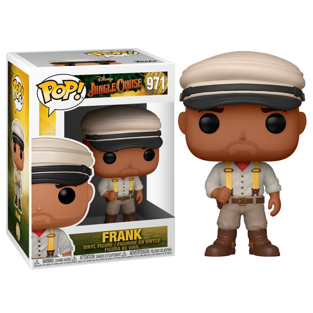 Photo du produit Jungle Cruise Figurine POP! Movies Vinyl Frank