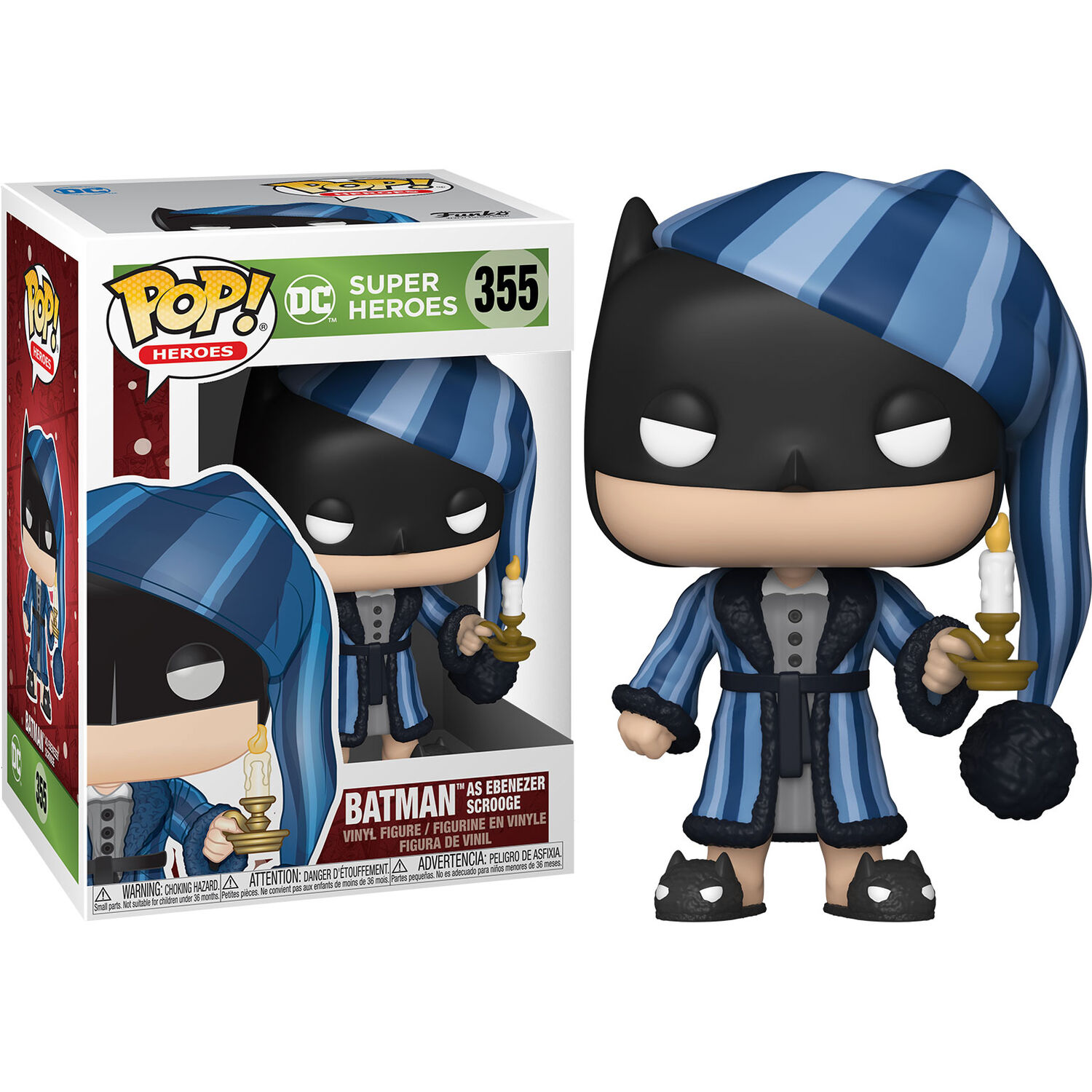 Photo du produit FUNKO POP! BATMAN AS EBENEZER SCROOGE (DC HOLIDAY)