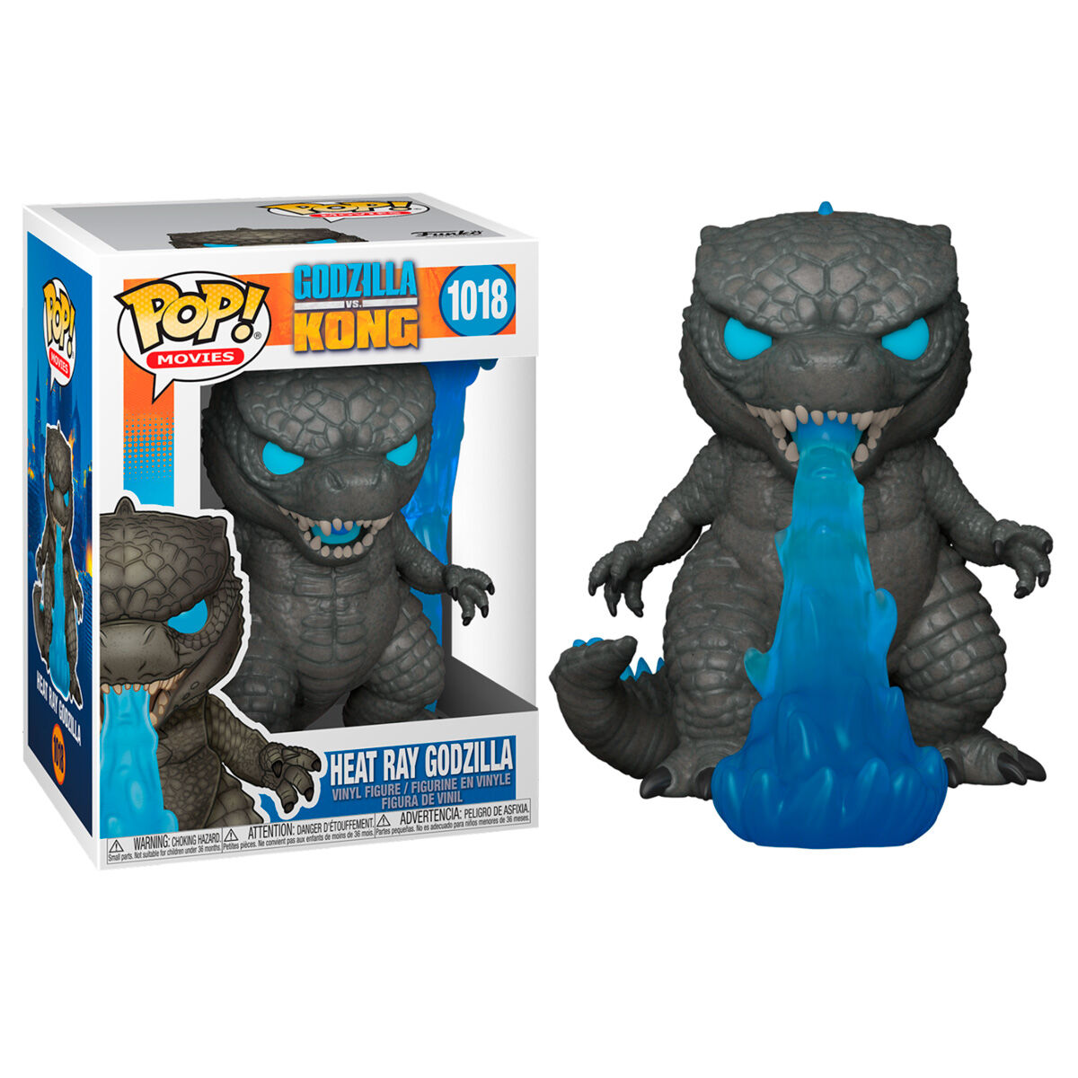 Photo du produit GODZILLA VS KONG FIGURINE POP! MOVIES VINYL GODZILLA FIRE BREATHING 9 CM