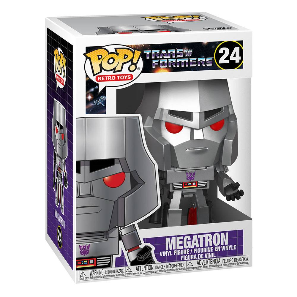 Photo du produit TRANSFORMERS FUNKO POP! MEGATRON 9 CM