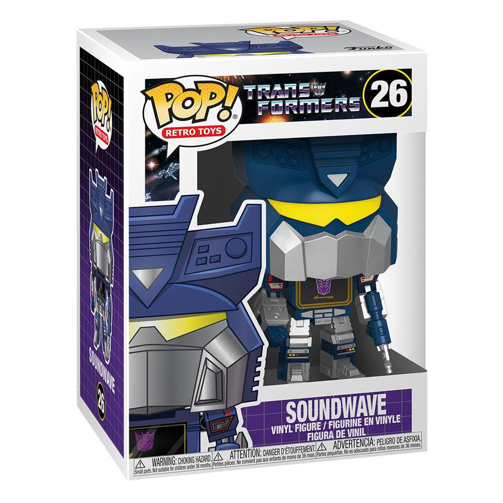 Photo du produit TRANSFORMERS FUNKO POP! SOUNDWAVE 9 CM