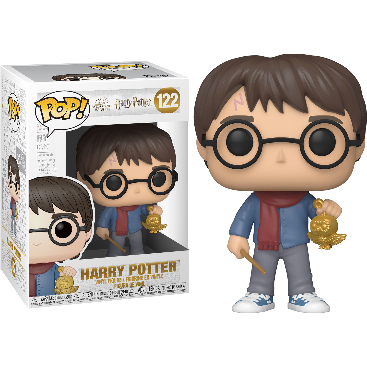 Photo du produit HARRY POTTER FIGURINE FUNKO POP! HOLIDAY HARRY POTTER