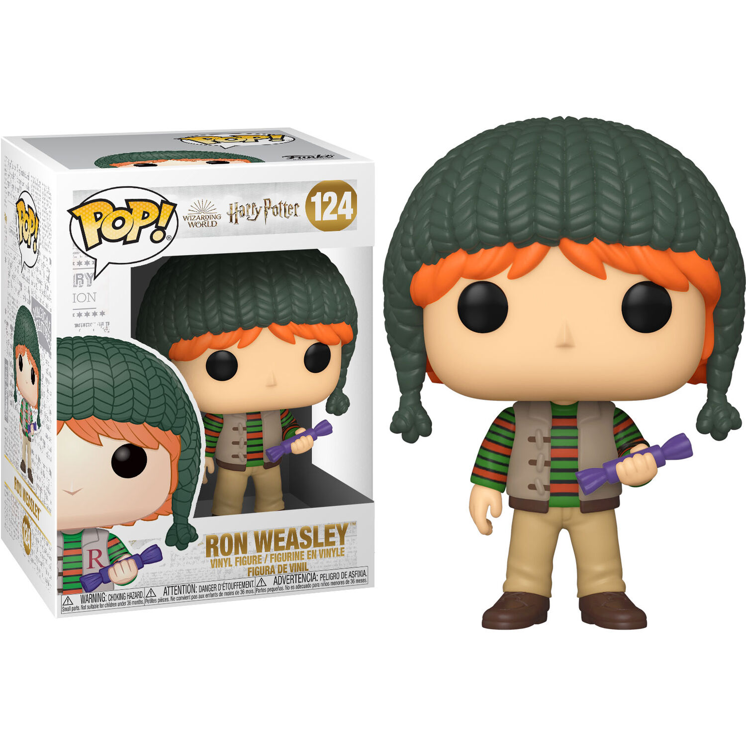 Photo du produit HARRY POTTER FIGURINE FUNKO POP! HOLIDAY RON WEASLEY