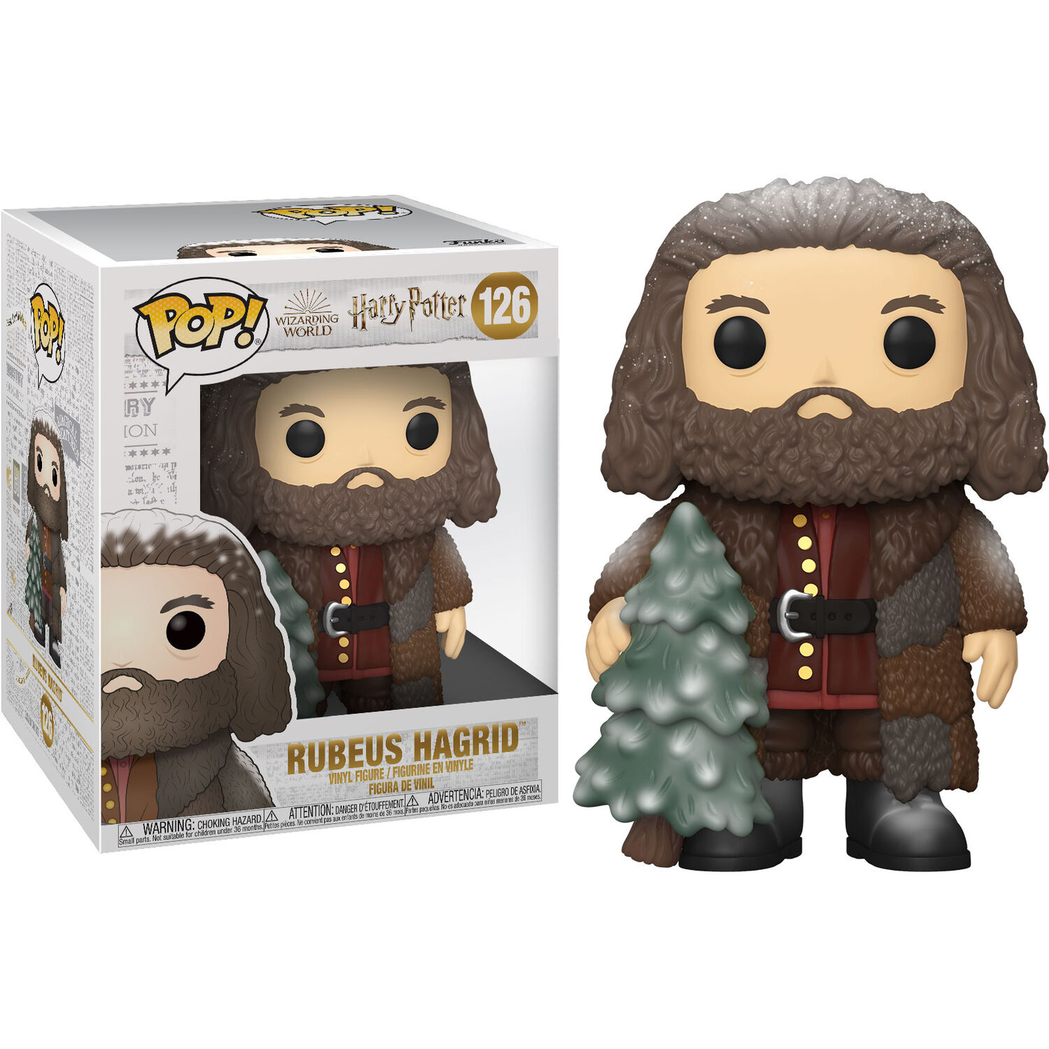 Photo du produit HARRY POTTER FIGURINE FUNKO POP! HOLIDAY RUBEUS HAGRID 15 CM