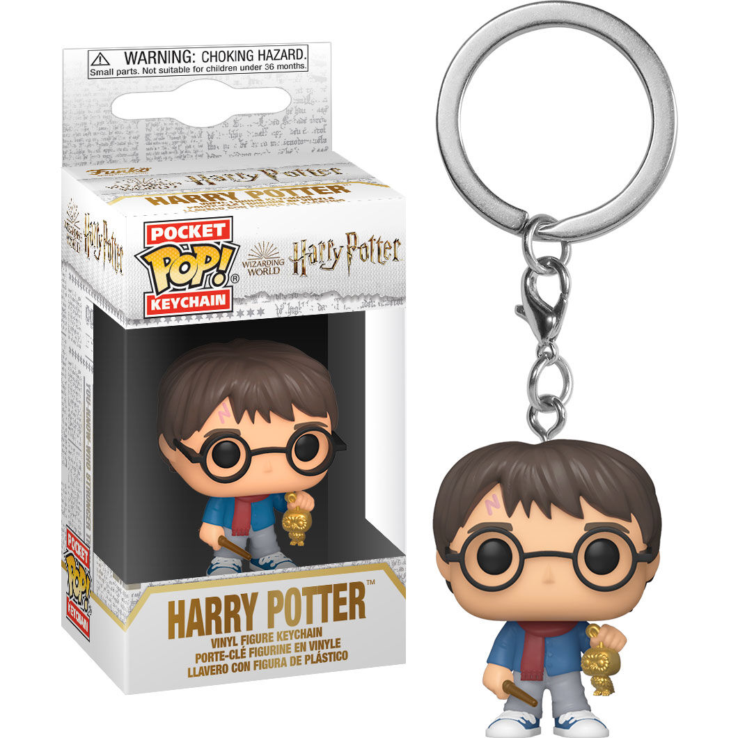 Photo du produit POCKET POP! VINYL HOLIDAY HARRY POTTER 4 CM