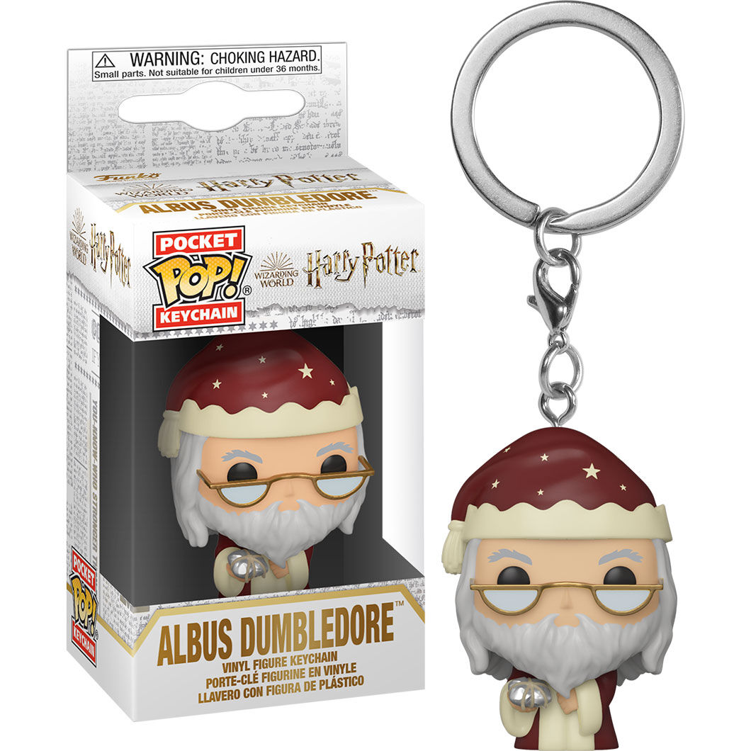 Photo du produit POCKET POP! VINYL HOLIDAY ALBUS DUMBLEDORE 4 CM