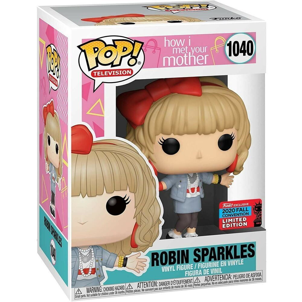 Photo du produit FIGURINE FUNKO POP HOW I MET YOUR MOTHER ROBIN SPARKLES EXCLUSIVE NYCC FALL CONVENTION 2020