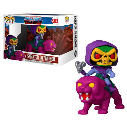 Photo du produit MASTERS OF THE UNIVERSE FUNKO POP! RIDES FIGURINE SKELETOR ON PANTHOR 18 CM