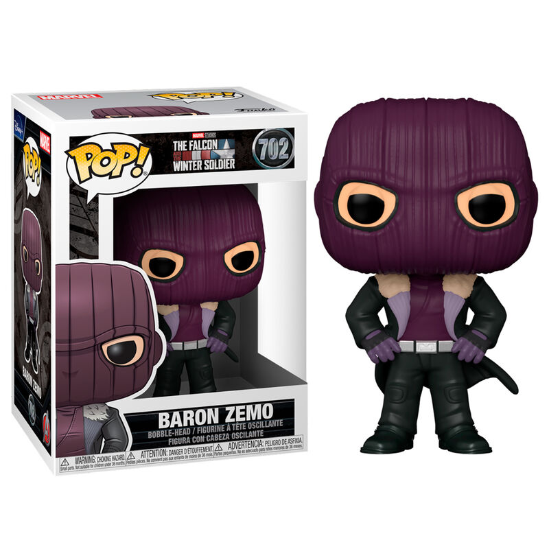 Photo du produit FIGURINE POP MARVEL THE FALCON AND THE WINTER SOLDIER BARON ZEMO