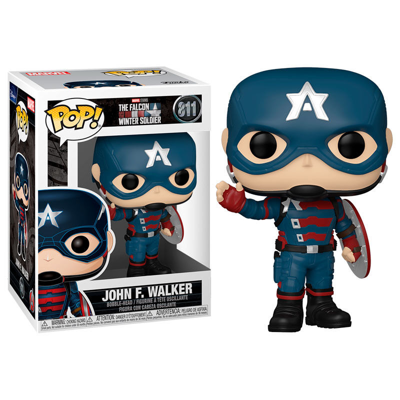 Photo du produit The Falcon and the Winter Soldier Funko POP! Captain America