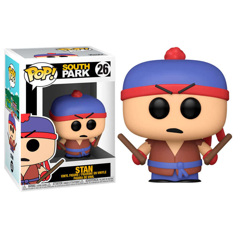 Photo du produit SOUTH PARK FUNKO POP! SHADOW HACHI STAN