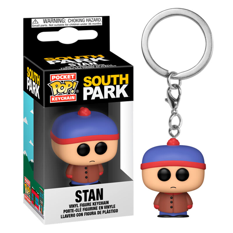 Photo du produit PORTE-CLÉ POCKET POP SOUTH PARK STAN