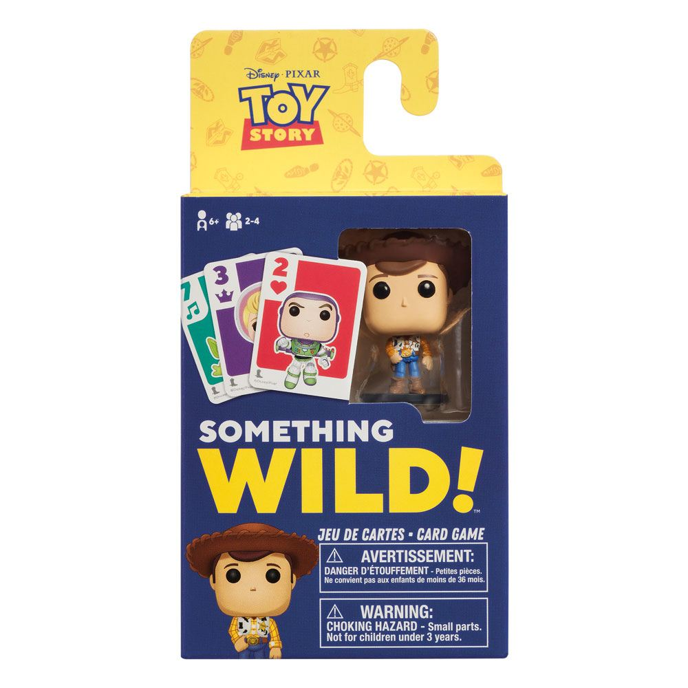 Photo du produit TOY STORY CARTON DE 4 JEUX DE CARTES SOMETHING WILD! (FRANCAIS / ANGLAIS)