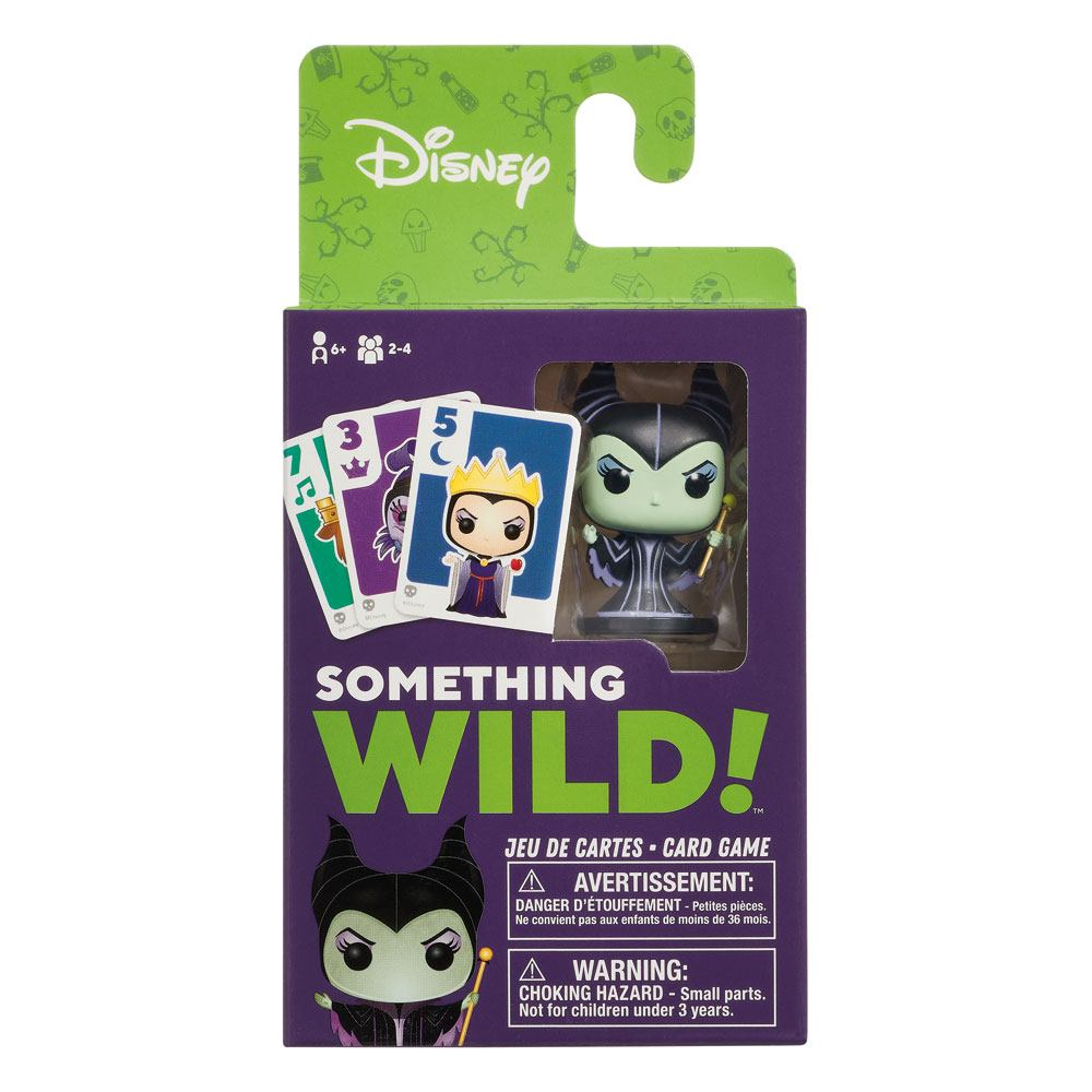 Photo du produit DISNEY VILLAINS CARTON DE 4 JEUX DE CARTES SOMETHING WILD! (FRANCAIS / ANGLAIS)