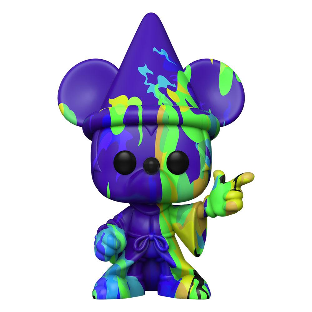 Photo du produit FANTASIA 80TH ANNIVERSARY FUNKO POP! FIGURINE MICKEY (ARTIST SERIES) #2 WITH POP PROTECTOR
