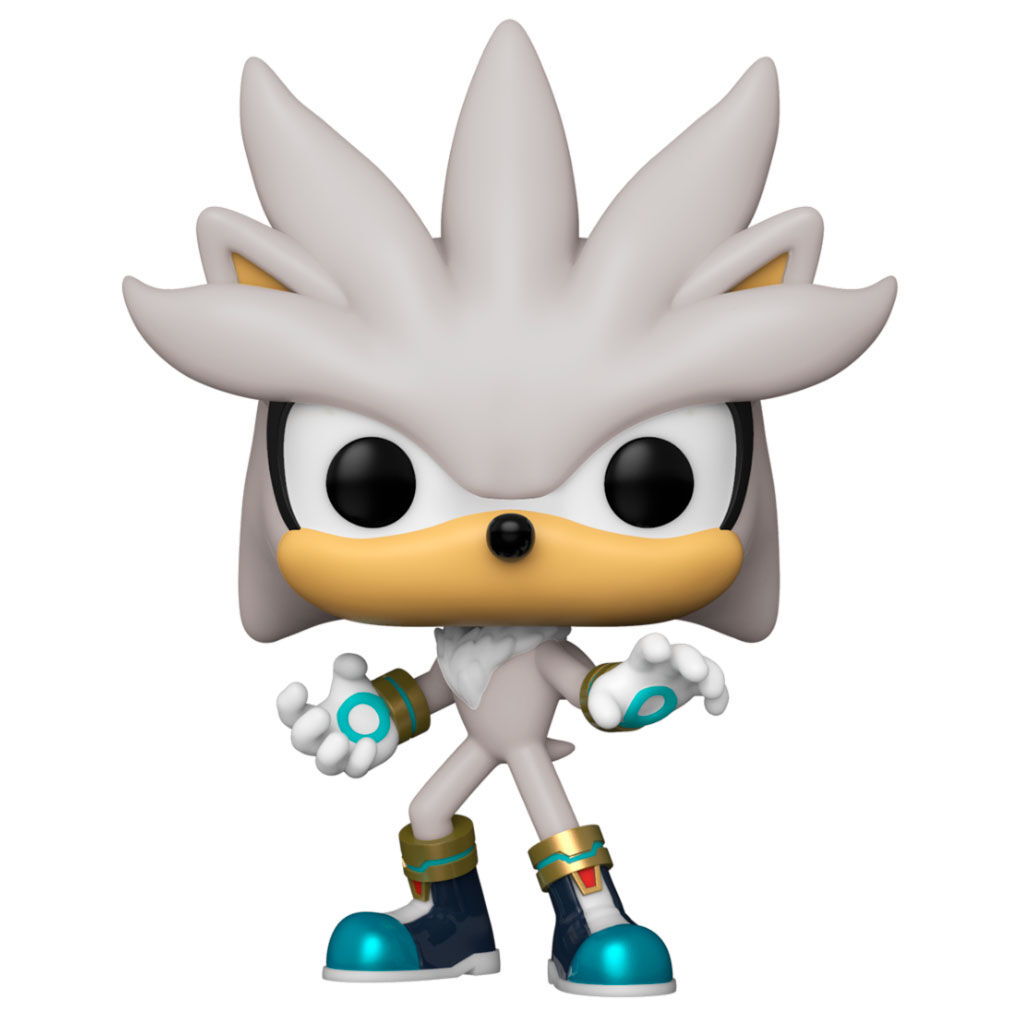 Photo du produit FUNKO POP SONIC 30TH ANNIVERSARY SILVER THE HEDGEHOG