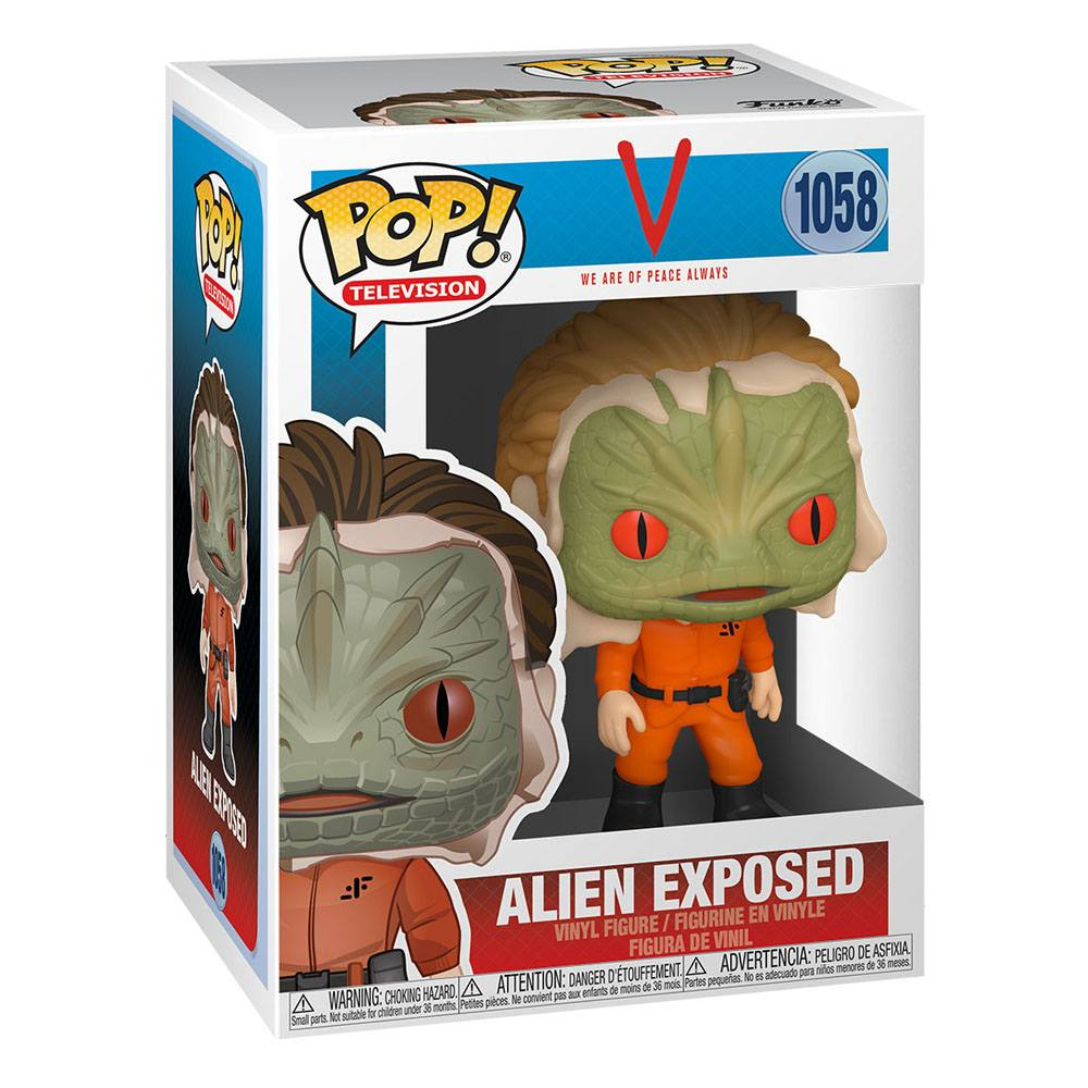 Photo du produit SERIE V FIGURINE FUNKO POP EXPOSED ALIEN