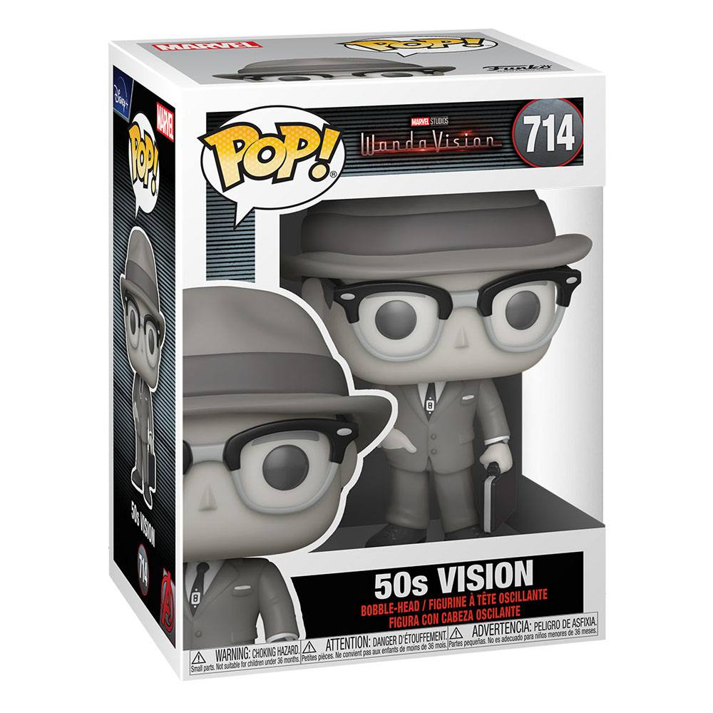 Photo du produit FUNKO POP MARVEL WANDAVISION 50S VISION