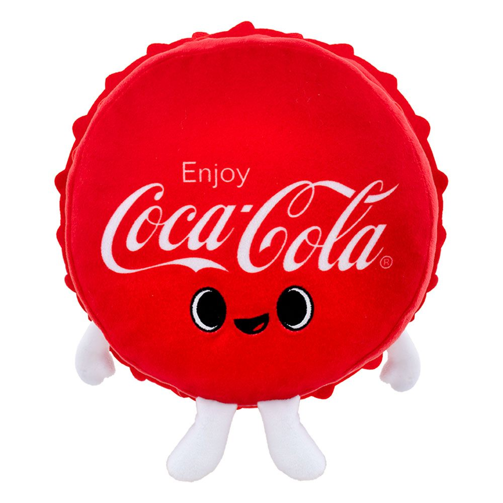 Photo du produit PELUCHE COKE COCA COLA BOTTLE CAP