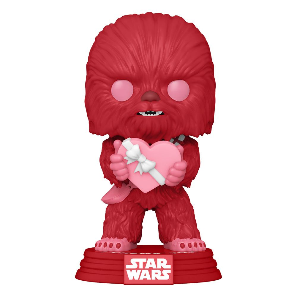 Photo du produit STAR WARS VALENTINES FUNKO POP! STAR WARS CUPID CHEWBACCA WITH HEART 9 CM