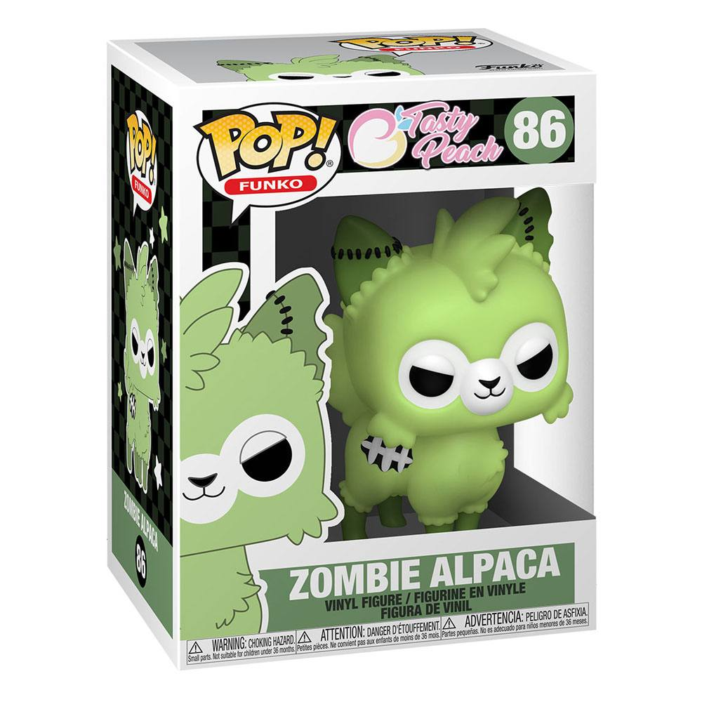 Photo du produit TASTY PEACH FUNKO POP! VINYL FIGURINE ZOMBIE ALPACA