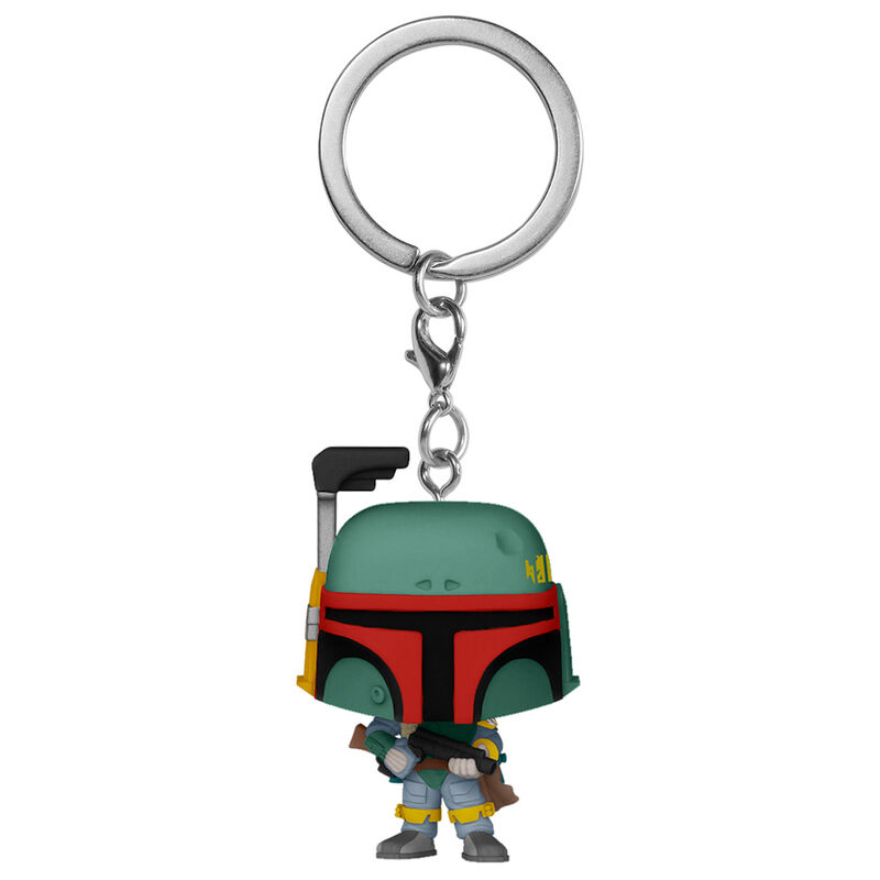 Photo du produit STAR WARS PORTE-CLÉS POCKET POP! BOBA FETT