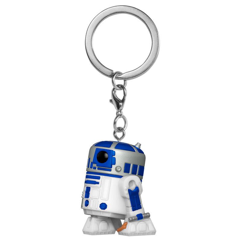 Photo du produit STAR WARS PORTE-CLÉS POCKET POP! R2-D2