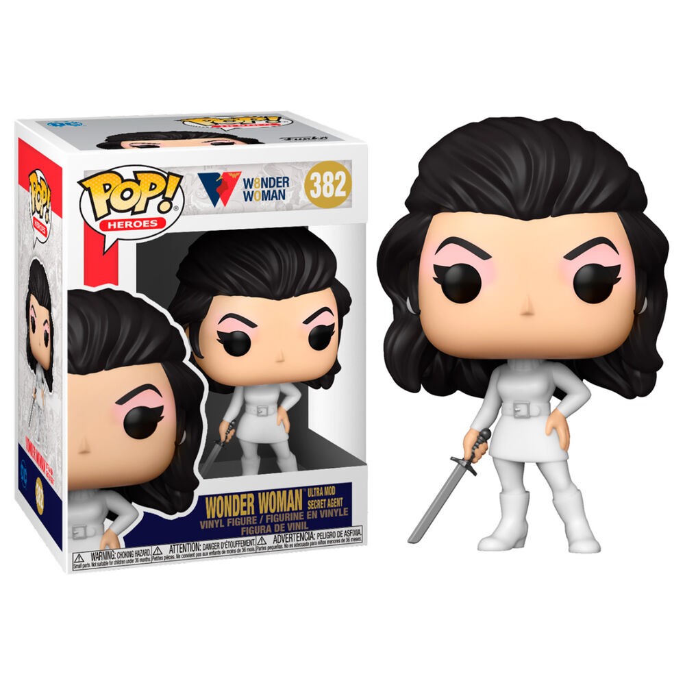 Photo du produit FUNKO POP WW80TH WONDER WOMAN ULTRA MOD SECRET AGENT