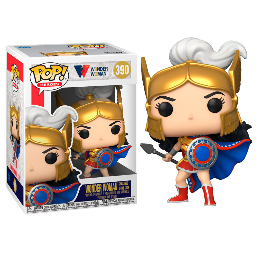 Photo du produit FUNKO POP WW80TH WONDER WOMAN CHALLENGE OF THE GODS
