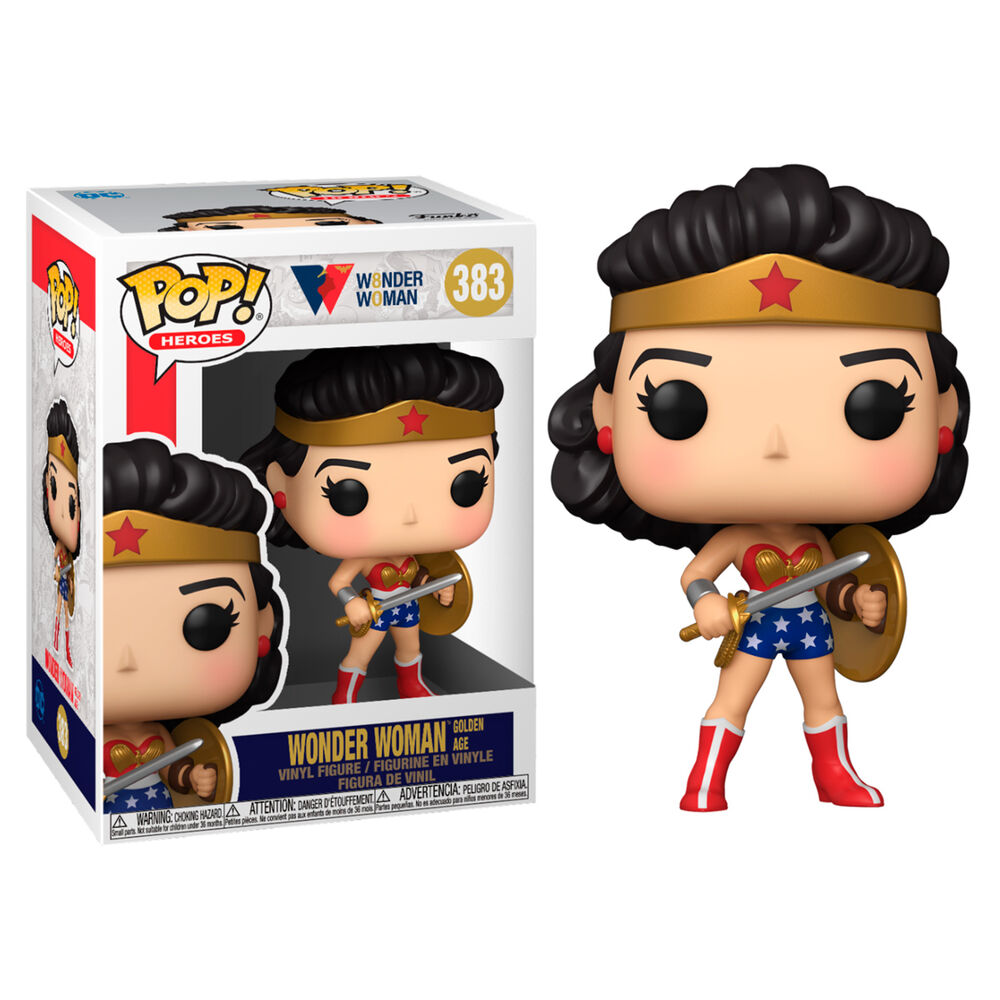 Photo du produit FUNKO POP WW80TH WONDER WOMAN GOLDEN AGE